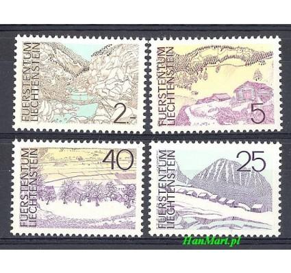 Znaczek Liechtenstein 1973 Mi 596-599 Czyste **