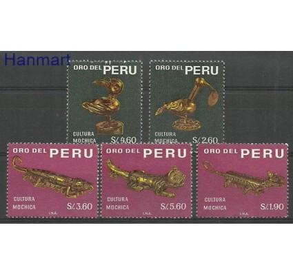 Znaczek Peru 1968 Mi 694-698 Czyste **