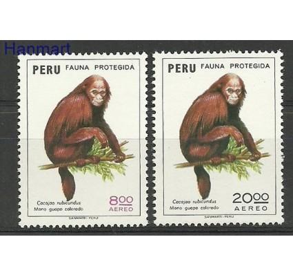 Znaczek Peru 1974 Mi 976-977 Czyste **