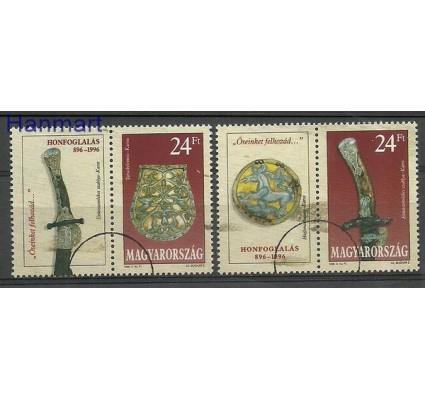 Znaczek Węgry 1996 Mi 4371-4372 Czyste **