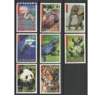 Znaczek Surinam 1999 Mi 1695-1702 Czyste **