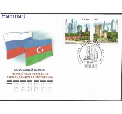 Znaczek Rosja 2015 Mi 2219-2220 FDC