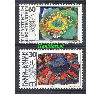Znaczek Liechtenstein 1975 Mi 623-624 Czyste **
