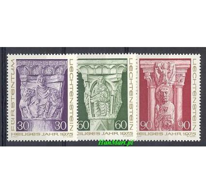 Znaczek Liechtenstein 1975 Mi 639-641 Czyste **
