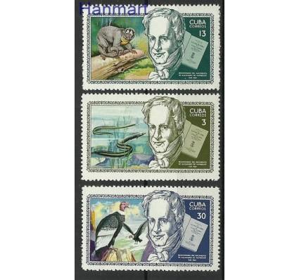 Znaczek Kuba 1969 Mi 1502-1504 Czyste **