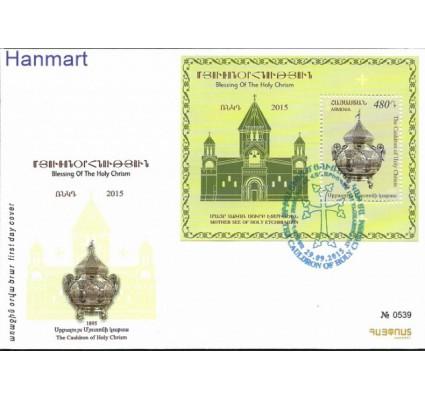 Znaczek Armenia 2015 Mi bl 69 FDC