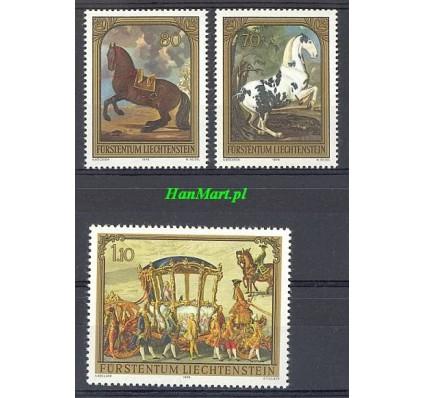 Znaczek Liechtenstein 1978 Mi 717-719 Czyste **