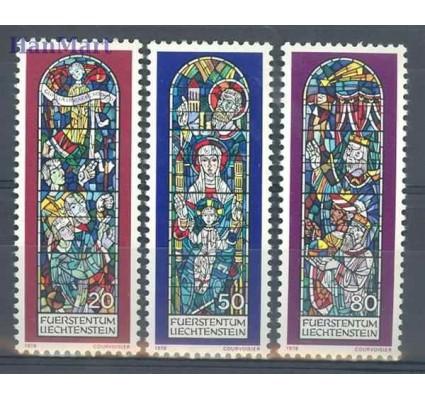Znaczek Liechtenstein 1978 Mi 720-722 Czyste **