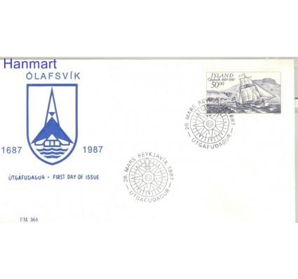 Znaczek Islandia 1987 Mi 663 FDC