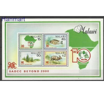 Znaczek Malawi 1990 Mi bl 71 Czyste **
