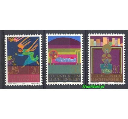 Znaczek Liechtenstein 1980 Mi 761-763 Czyste **