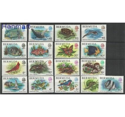 Znaczek Bermudy 1978 Mi 352-368 Czyste **