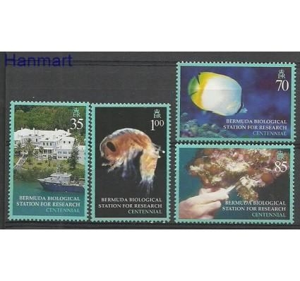 Znaczek Bermudy 2003 Mi 849-852 Czyste **
