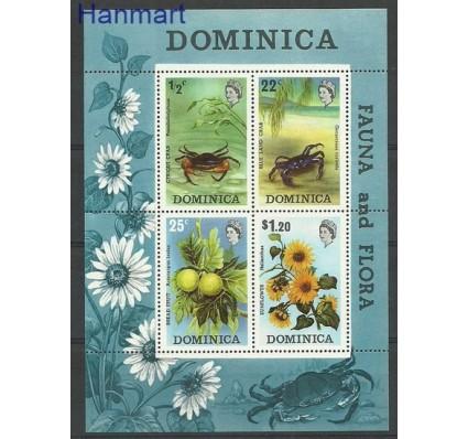 Znaczek Dominika 1973 Mi bl 19 Czyste **