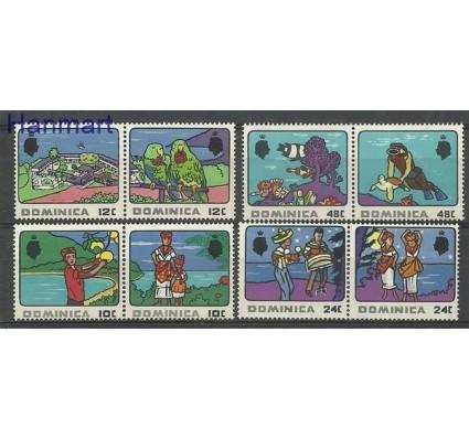 Znaczek Dominika 1969 Mi 245-252 Czyste **
