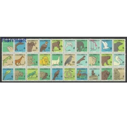 Znaczek Kolumbia 1980 Mi 1418-1447 Czyste **