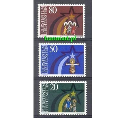 Znaczek Liechtenstein 1983 Mi 831-833 Czyste **