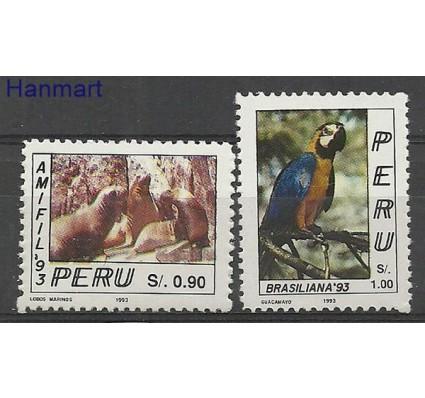 Znaczek Peru 1993 Mi 1494-1495 Czyste **