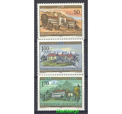 Znaczek Liechtenstein 1985 Mi 868-870 Czyste **