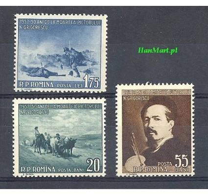 Znaczek Rumunia 1957 Mi 1655-1657 Czyste **
