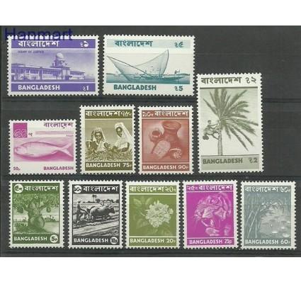 Znaczek Bangladesz 1976 Mi 59-69 Czyste **