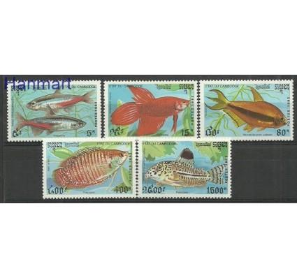 Znaczek Kambodża 1992 Mi 1273-1277 Czyste **