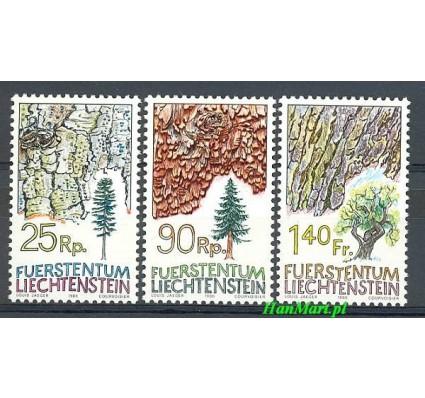 Znaczek Liechtenstein 1986 Mi 913-915 Czyste **