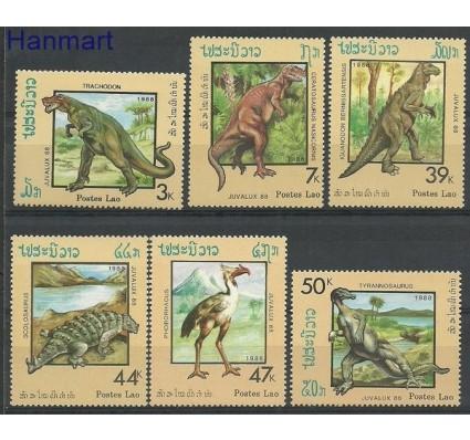 Znaczek Laos 1988 Mi 1075-1080 Czyste **
