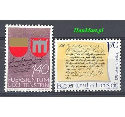 Znaczek Liechtenstein 1987 Mi 928-929 Czyste **
