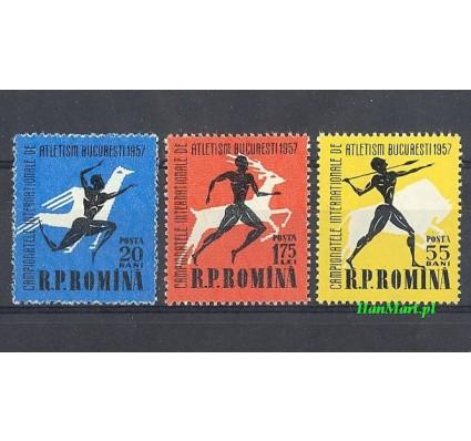 Znaczek Rumunia 1957 Mi 1666-1668 Czyste **