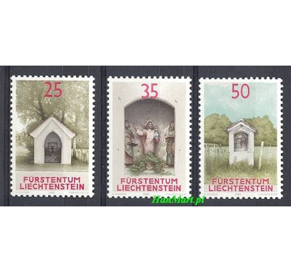 Znaczek Liechtenstein 1988 Mi 951-953 Czyste **