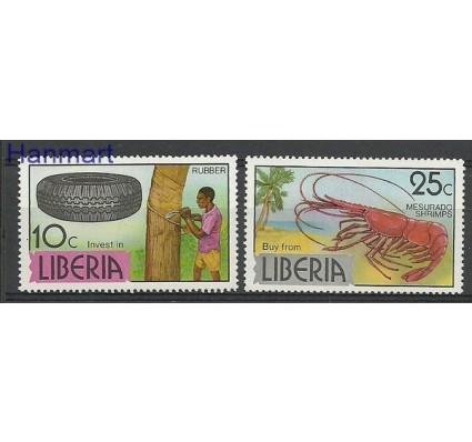 Znaczek Liberia 1976 Mi 1016-1017 Czyste **