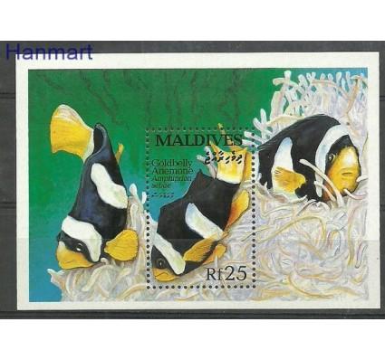 Znaczek Malediwy 1993 Mi bl 279 Czyste **