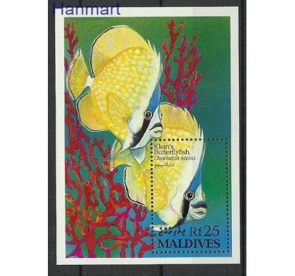Znaczek Malediwy 1993 Mi bl 280 Czyste **
