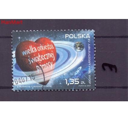 Znaczek Polska 2007 Stemplowane