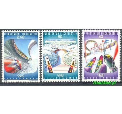 Znaczek Liechtenstein 1993 Mi 1076-1078 Czyste **