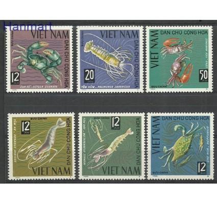 Znaczek Wietnam 1965 Mi 387-392 Czyste **
