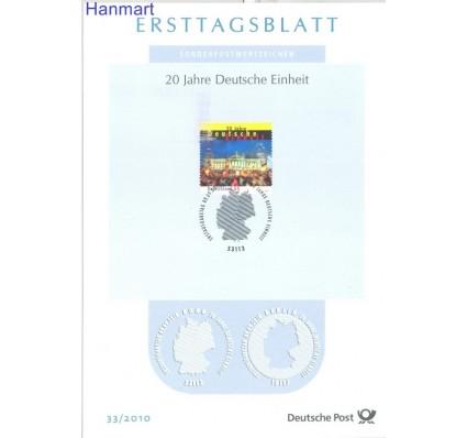 Znaczek Niemcy 2010 Pierwszy dzień wydania