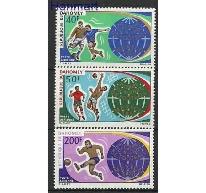 Znaczek Dahomej 1970 Mi 414-416 Czyste **