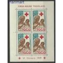 Togo 1959 Mi bl 3 Czyste **