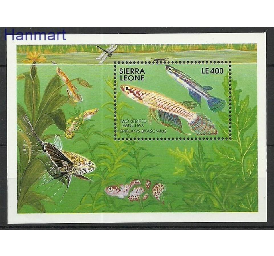 Sierra Leone 1991 Mi bl 165 Czyste **