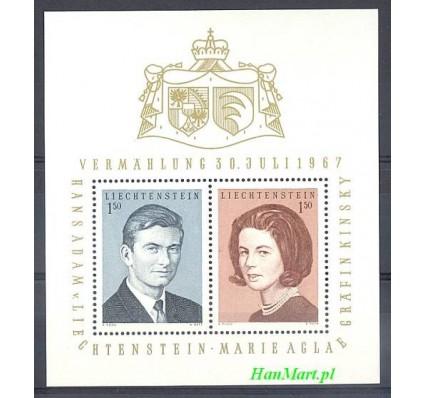 Znaczek Liechtenstein 1967 Mi bl 7 Czyste **