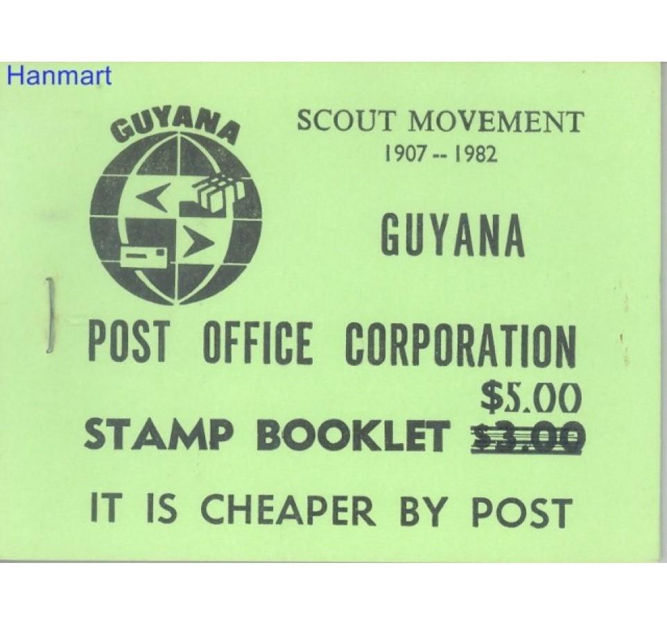 Gujana 1982 Mi mhsg 17 Czyste **