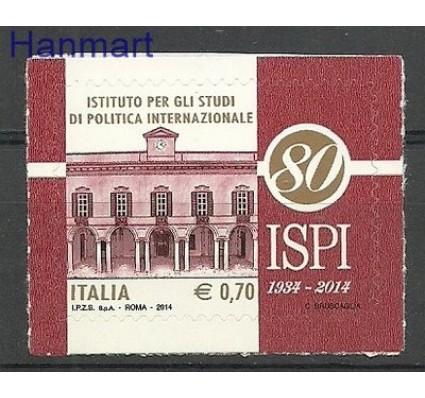 Znaczek Włochy 2014 Mi 3684 Czyste **