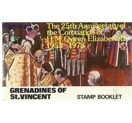 Znaczek Grenadines of St Vincent 1978 Mi 152-155 Czyste **