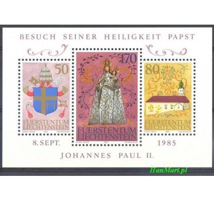 Znaczek Liechtenstein 1985 Mi bl 12 Czyste **