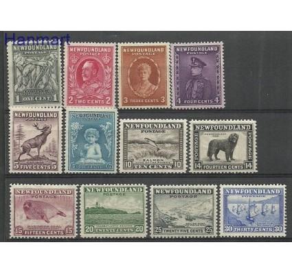 Znaczek Nowa Funlandia 1932 Mi 172-183 Z podlepką *
