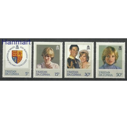 Znaczek Tristan da Cunha 1982 Mi 323-326 Czyste **