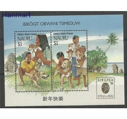 Znaczek Nauru 1994 Mi bl 10 Czyste **