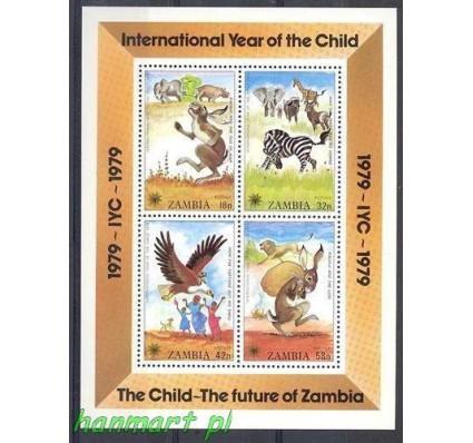 Znaczek Zambia 1979 Mi bl 5 Czyste **
